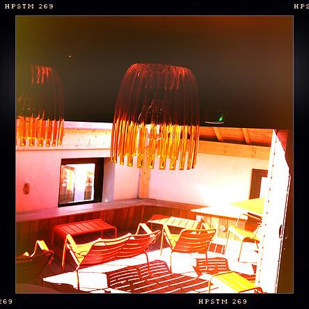 Tropézienne lustre - Café Saint-Jacques