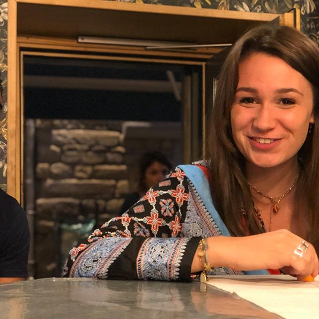 Céleste serveuse du Café Saint-Jacques - Bar à Saint-Etienne 2